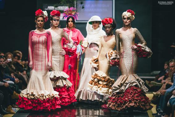 Pilar Arregui y Amaranta Pozo ganadoras noveles diseñadoras en la Pasarela Flamenca Jerez 2015