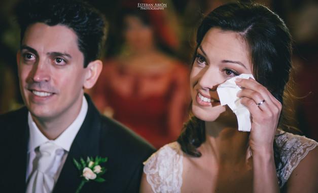 Cristina & Luis Miguel una ceremonia muy emotiva.