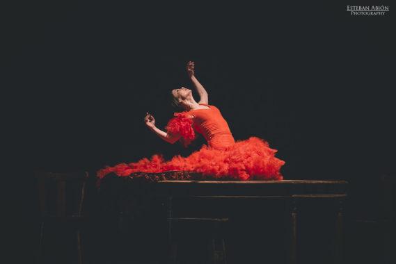La flor que soñó con ser bailaora de Olga Pericet