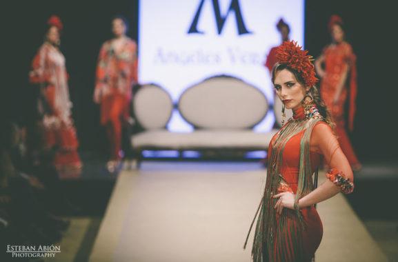 Angeles Verano Pasarela Flamenca Jerez 2018