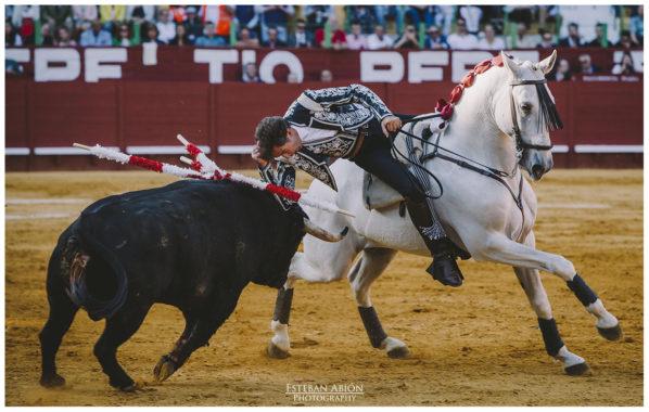 Corrida de Rejones Feria del Caballo 2018, Fermin Bohórquez, Pablo Hermoso de Mendoza y Guillermo H. de Mendoza.
